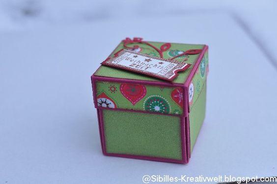 Bastelforum - Kleine Herzverpackung....