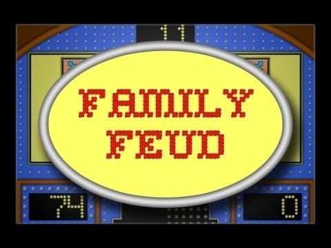Family Feud Powerpoint 2016 Template Youtube With Family Feud Game Template With Music 54334 Family Feud Template Family Feud Family Feud Game Family feud online template
