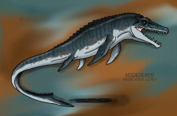 Jurassic World: Mosasaurus by Fnafnir on DeviantArt