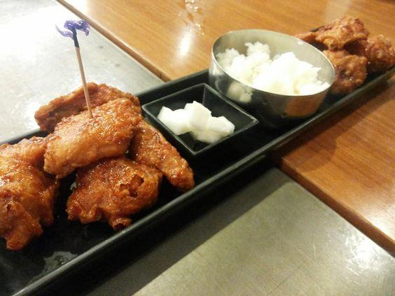 Yumm fried chicken!