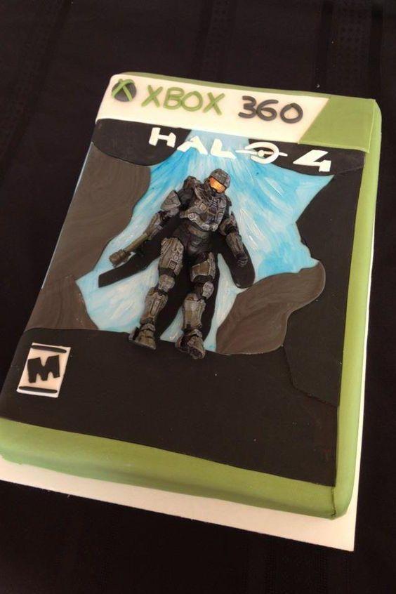 Art cakes, Halo and The o jays on Pinterest