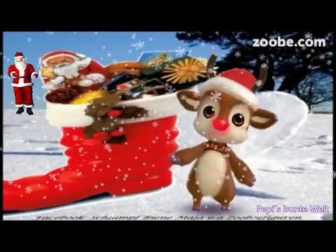 Morgen Kommt Der Nikolausheute Stellen Wir Stiefel Rauskommt Zu Gross Und Klein Packt Susses Rein Youtube Weihnachten Spruch Nikolaus Weihnachten