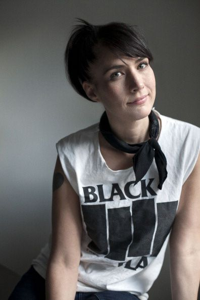 Kathleen Hanna.  The incredible woman who changed the face of feminism.  Kathleen Hanna is a huge influence of mine, she is extraordinary and brave, and every woman should know who she is.