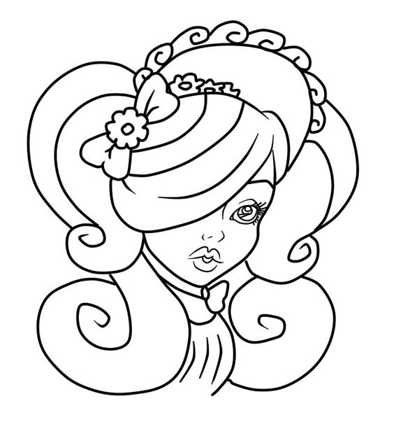 Ever After High Lily Bo Peep Coloring Page 2