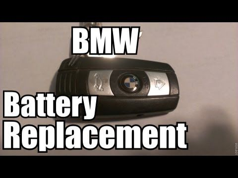 How to Replace Batter for BMW Smart Key  Key Fob Programming