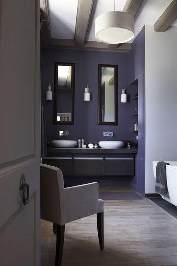 des salles de bains color es pour des douches ensoleill es inspiration design et int rieurs. Black Bedroom Furniture Sets. Home Design Ideas