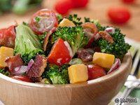 Southern Broccoli Tomato Salad