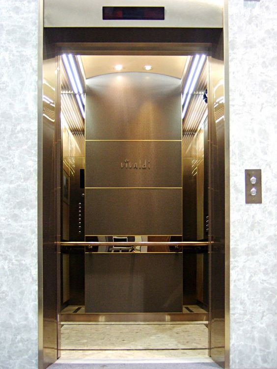 Elevator Cab Interior Halla Construction Elevator