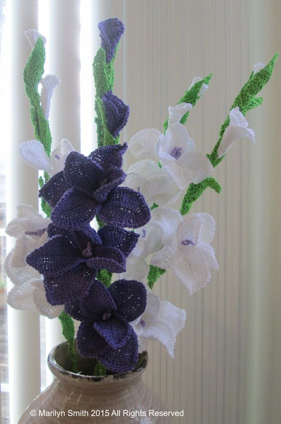 Brighten up a pallid corner, with a blend of white and purple, and a dash of greens.