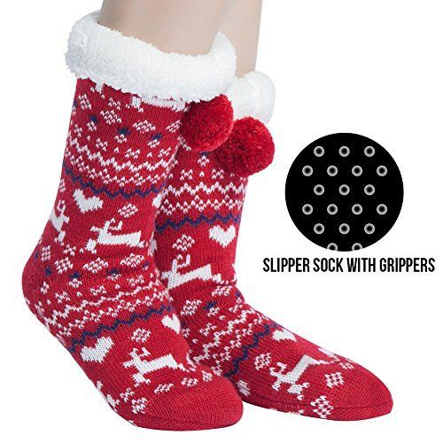 43+ Funny christmas fuzzy socks trends