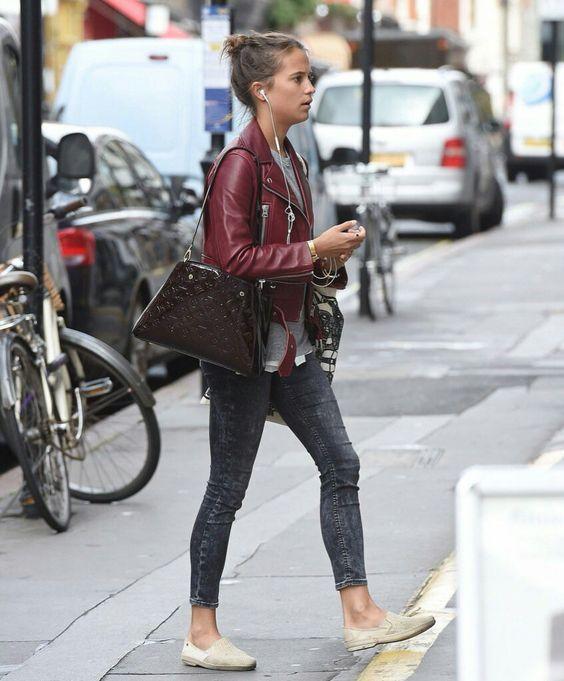 Alicia Vikander 2016 Streetstyle