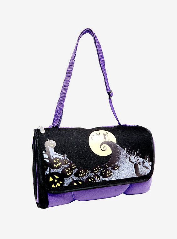 Hot Topic Nightmare Before Christmas Backpack.The Nightmare Before Christmas Blanket Tote Disney Hot