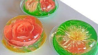 Receta para preparar gelatinas artísticas. Gelatinas artísticas / Serigrafía en gelatinas - YouTube