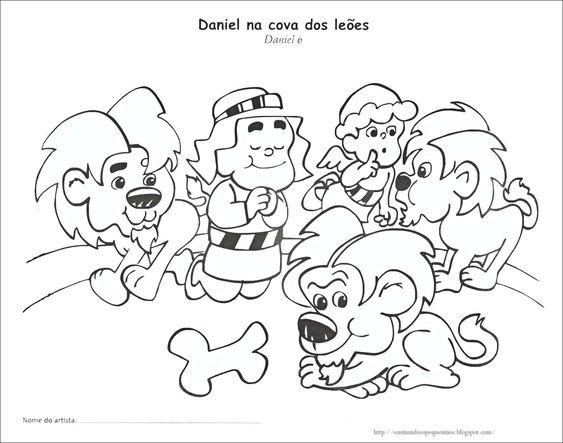 Ensinando os Pequeninos: Daniel na cova dos leões