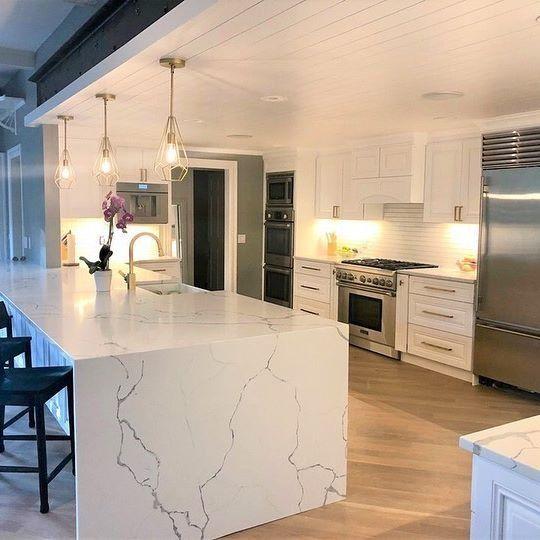 Statuary Classique Quartz Granite Countertops Marble Granite Countertops Kitchen Design Decor