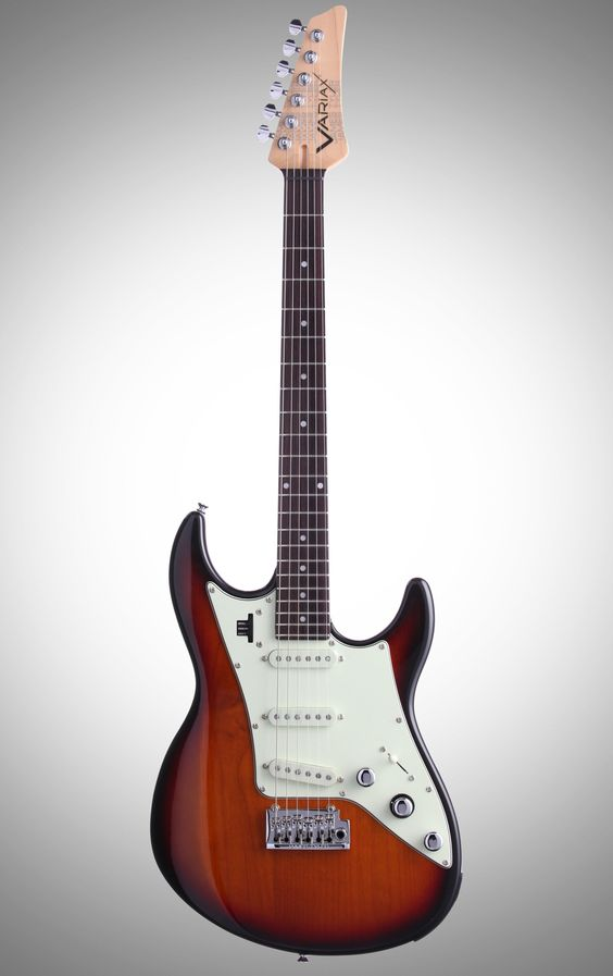 Line 6 JTV69S James Tyler Variax Electric Guitar (with Gig Bag), 3-Tone Sunburst