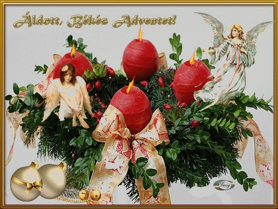 Advent 4 vasárnapot kívánok szeretettel