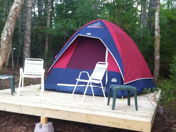 Tent platform and plywood on pinterest for Tent platform construction