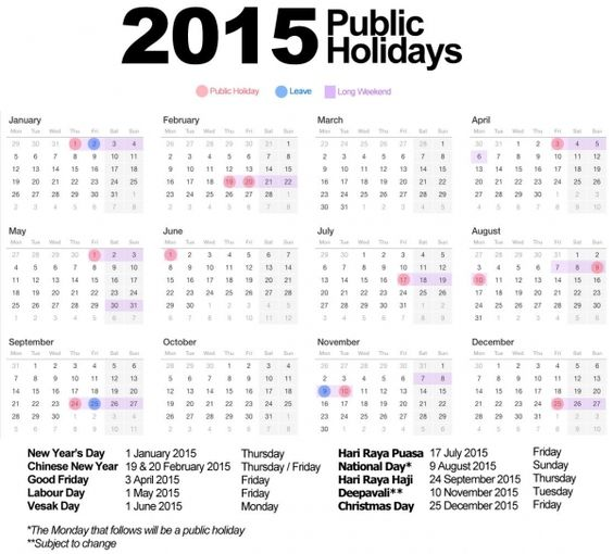 Printable Monthly Planner 2015: Printable Monthly Calendar 2015 With Holidays