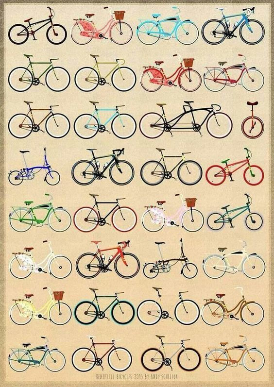 bycicles, the best way to ride.: