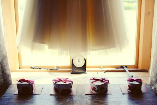 Bridesmaid gifts. 1950s tea party wedding ©maria farrelly Photography