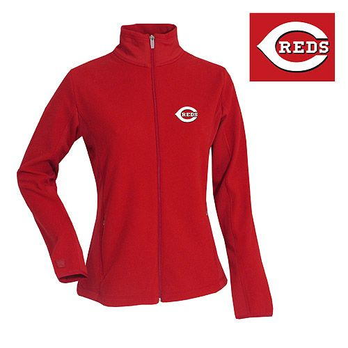 Cincinnati Reds Women's Sleet Fleece by Antigua - MLB.com Shop