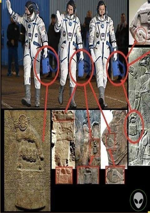 Those carvings could be a coincidence