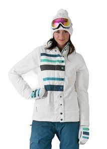 686 Mannual Nectar Insulated Jacket in White: On Sale Now for $99.86! #Sale