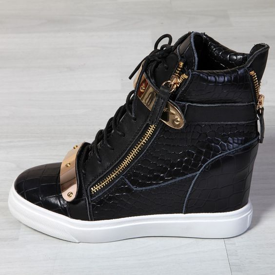 last season giuseppe zanotti wedge sneakers