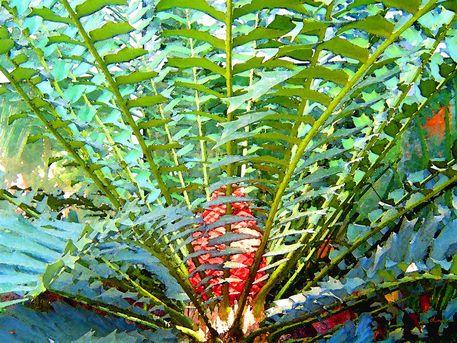 'Palmenglut' von Dirk h. Wendt bei artflakes.com als Poster oder Kunstdruck $18.03