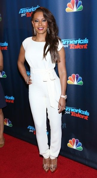 Melanie Brown at 'America's Got Talent' Season 8 Red Carpet Event at Radio City Music Hall in New York City. (August 28, 2013)