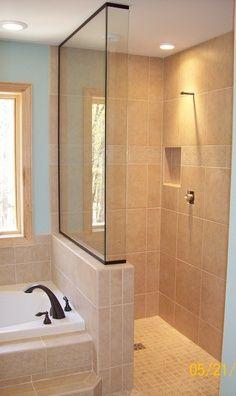 tile shower - Google Search