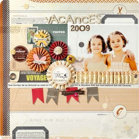 By French scrapbooker Prisca Jockovic