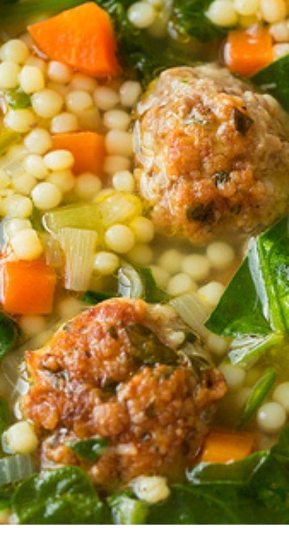 Italian Wedding Soup Recipe Soup Recipes Slow Cooker Healthy Soup Recipes Vegetarian Soup Recipes