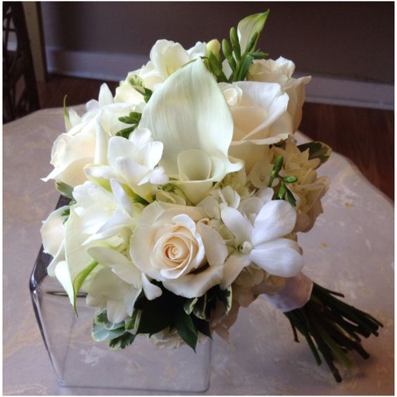 Bridal Bouquets New Orleans : Minis wedding and lilies on