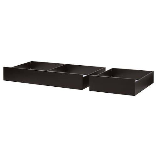 Ikea Romskog Rattan Underbed Storage Box Under Bed Storage