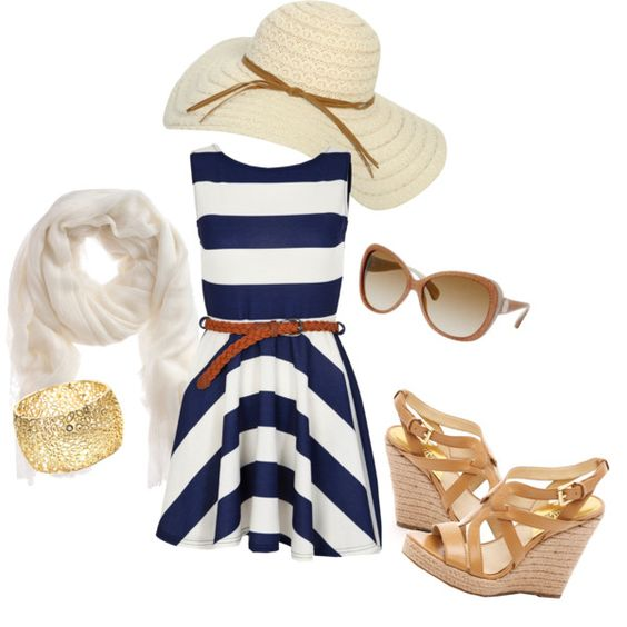 If I belonged to a Yacht Club this is what I would wear...