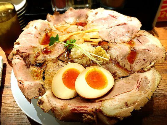 肉そば+肉増し+味玉 ramen