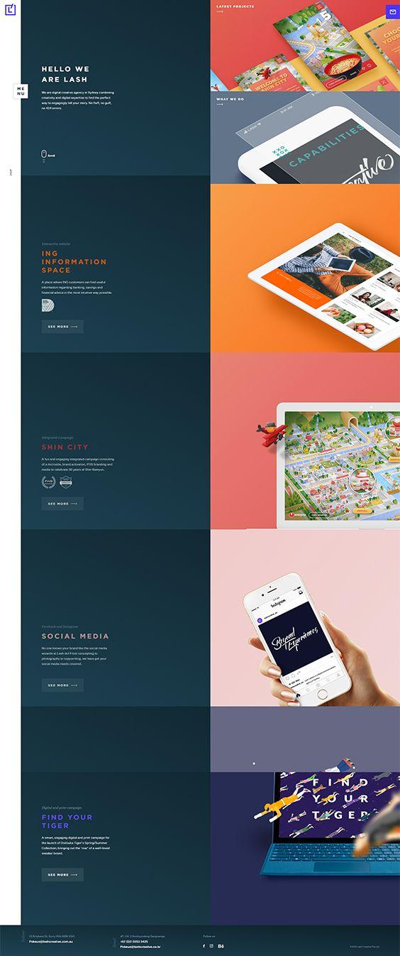 Lash Creative Digital Creative Agency Creative Agency Web Design Inspiration