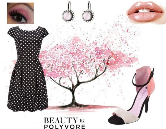 """""""Spring Polka Dot"""" by connie-mcclurg-mick on Polyvore"""