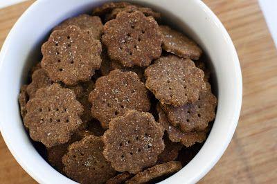 Spent Grain Crackers : Oven Love