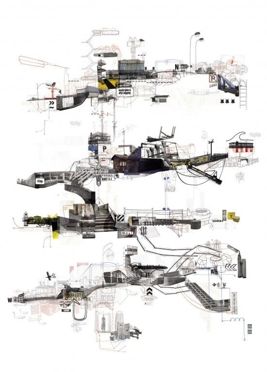 urban transects revisited 2 guy architecture and drawings - Cool Architecture Drawing