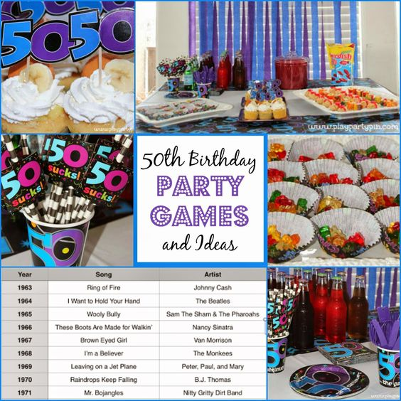 50th Birthday Party Ideas To Celebrate Your Guest Of Honor