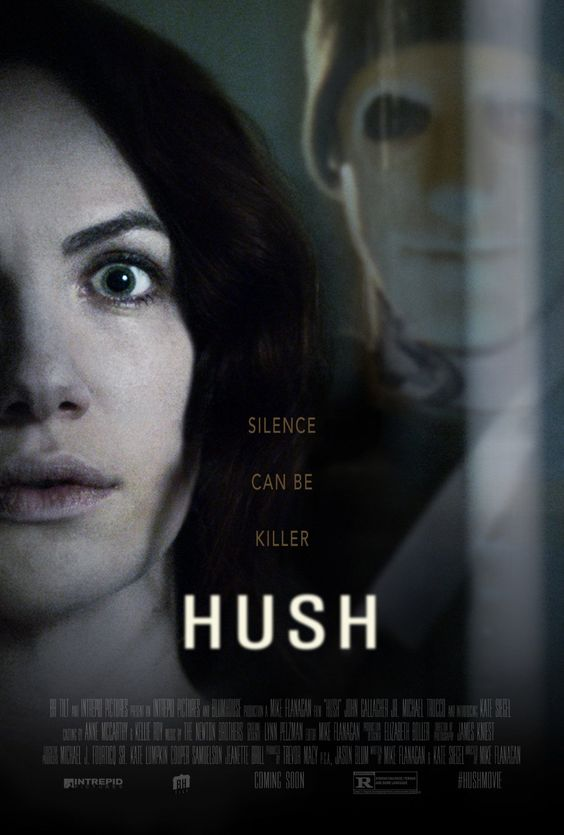 Today's Throwback: Hush (2016) #movie #throwback #horror: Director Mike Flanagan (Oculus (2013), Absentia (2011)) brings us his⦠#horror