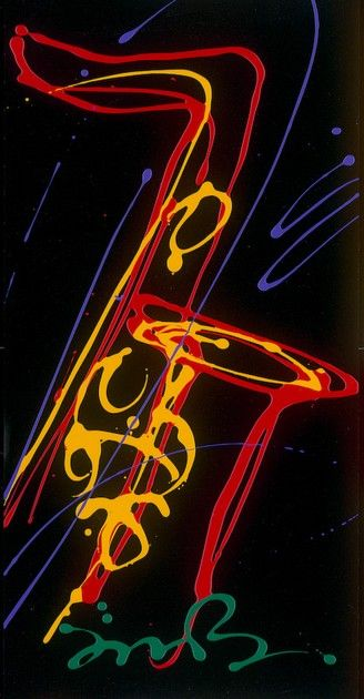 Simon Bull. #artwork #music #saxophone #musicart www.pinterest.com/TheHitman14/music-art-%2B/: