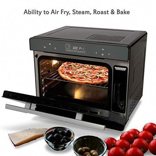 Electric Countertop Multifunction Convection Oven Ineedthebestoffer Com Convection Oven Heat Resistant Glass Convection