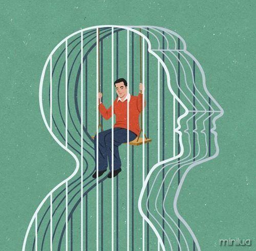 """A liberdade de um ser """"livre""""  arte: John Holcroft:"""