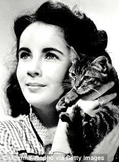 Elizabeth Taylor's Eyes - not only for their violet color, but also for the lashes.