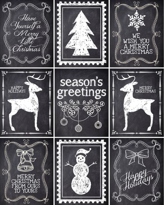 Free Christmas gift labels {printables} from @jan issues issues Howard to Nest for Less