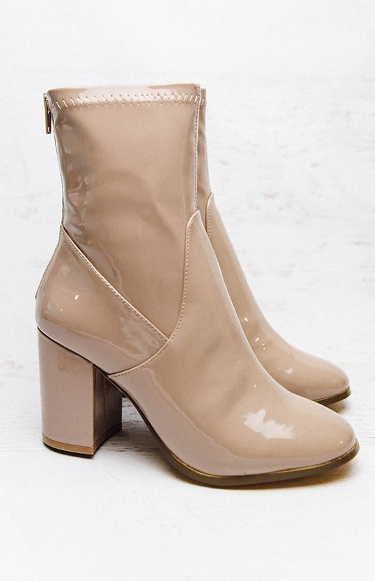 Therapy Hoxton Boot - Beige Liquid from peppermayo.com